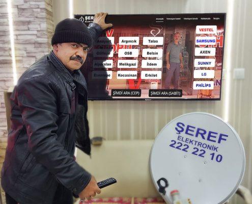 Talas - İldem - Belsin - Erkilet - Mimsin - Melikgazi - Kocasinan Televizyon Tamircisi